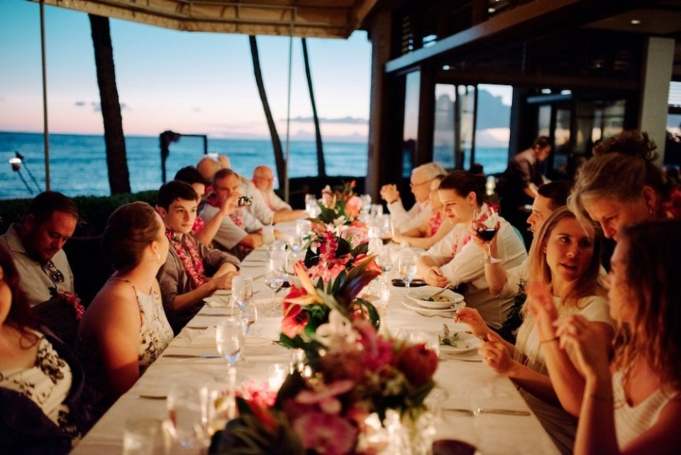 The beach house hawaii wedding venues