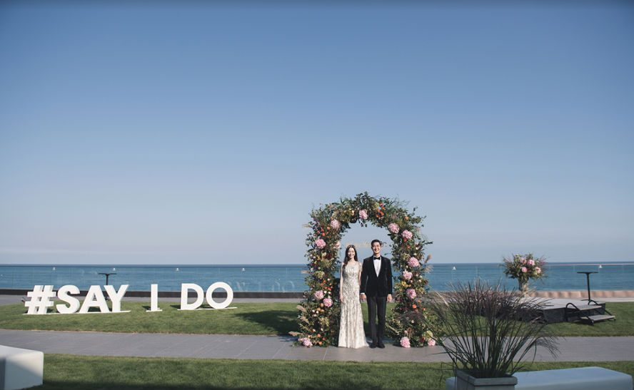 hilton busan seaside wedding venues korea