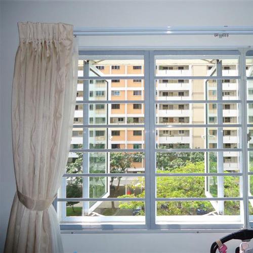 aluminium wrought window grills singapore