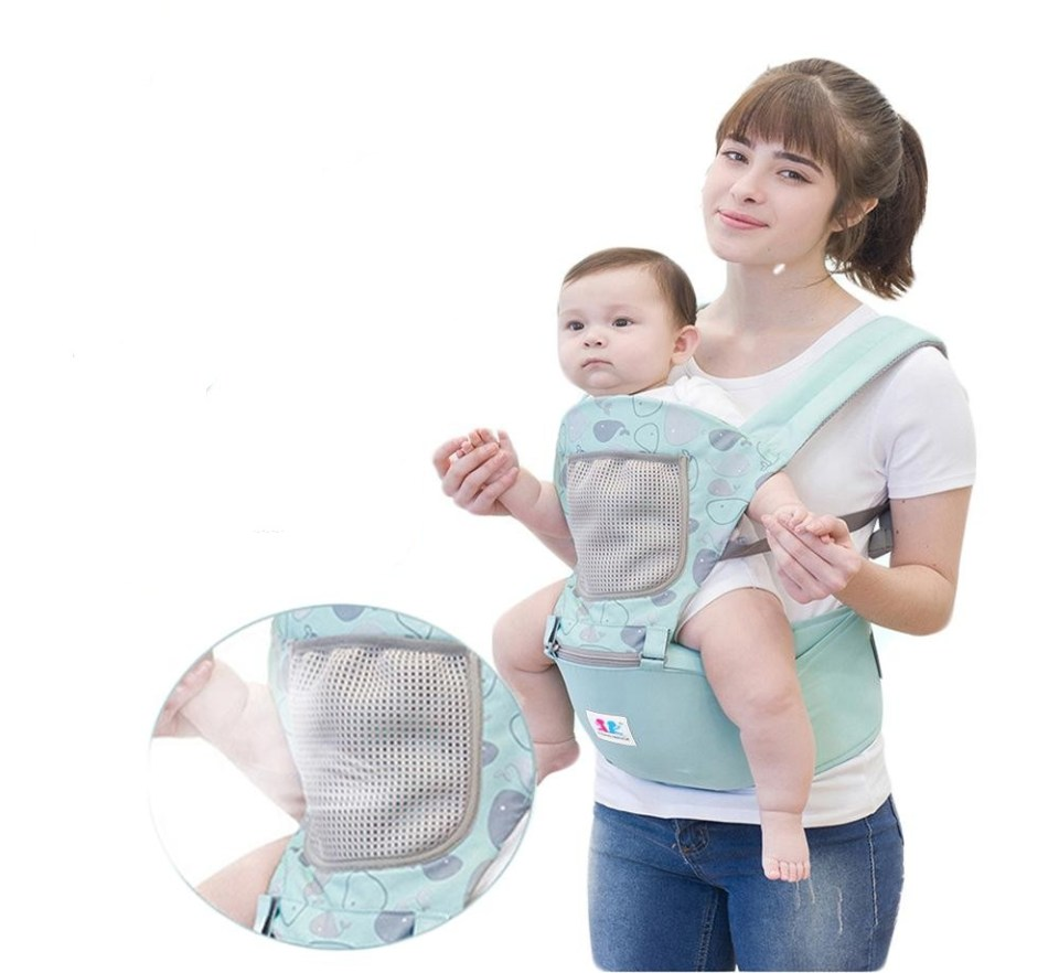 MOMO HOUSE Baby Toddler Kids Ergonomic Breathable Adjustable Baby Carrier Malaysia