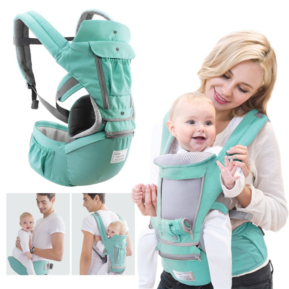 Mamakiddies Hip Seat Baby Carrier Malaysia