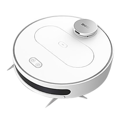 360 S6 best robot Vacuum Cleaners singapore with APP : 2 in 1 Vacuum and Mopping