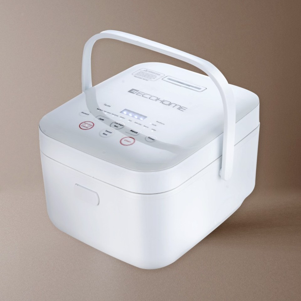 Ecohome Low Carbo Rice Cooker Terbaik ELS-888
