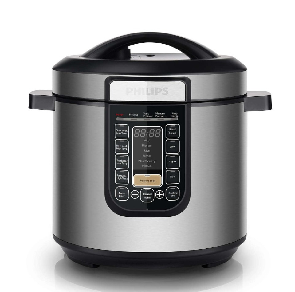 Philips Viva Collection All-In-One Best Pressure Cookers Singapore HD2137