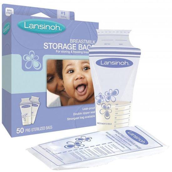 breastmilk storage singapore_Lansinoh Breastmilk Storage Bag Bundle