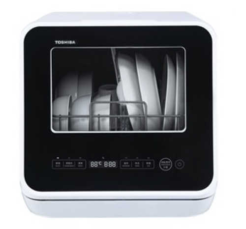 dishwasher singapore TOSHIBA MINI 5L PORTABLE DISHWASHER DWS-22ASG(K)