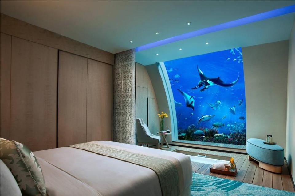 Beach Villas RWS Best Staycation Singapore Aquarium