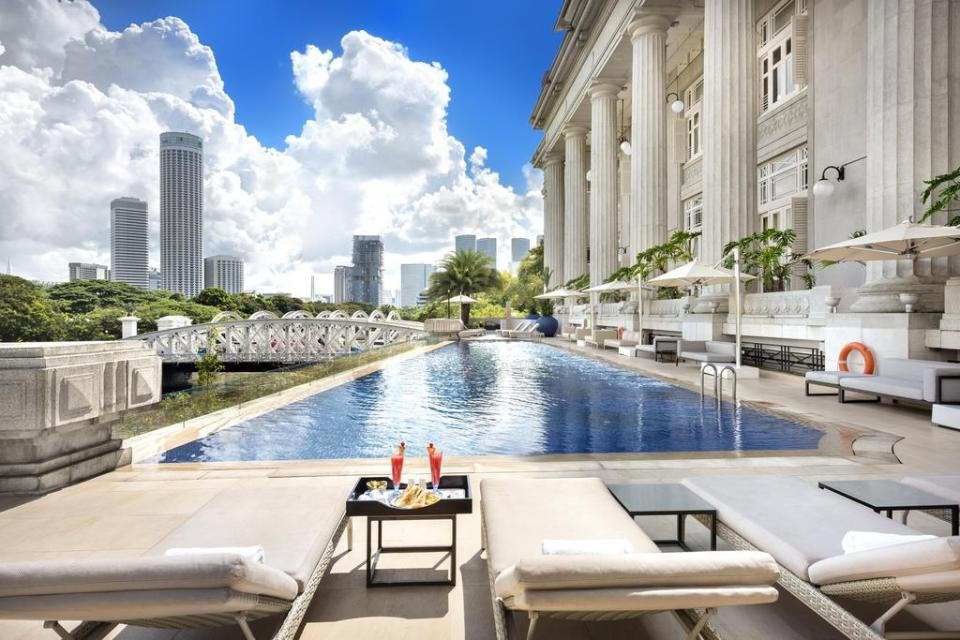 Fullerton Hotel Best Staycation Singapore