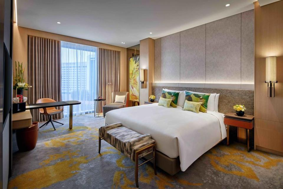 Sofitel Singapore City Center Staycation Singapore Bedroom