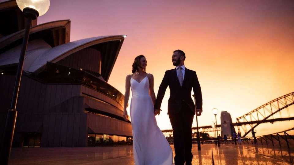 wedding venue Sydney Opera House
