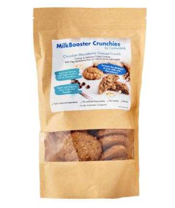 Cookie4milk Milkbooster Crunchies lactation cookies