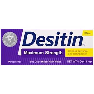 Desitin Maximum Strength Diaper Rash Paste