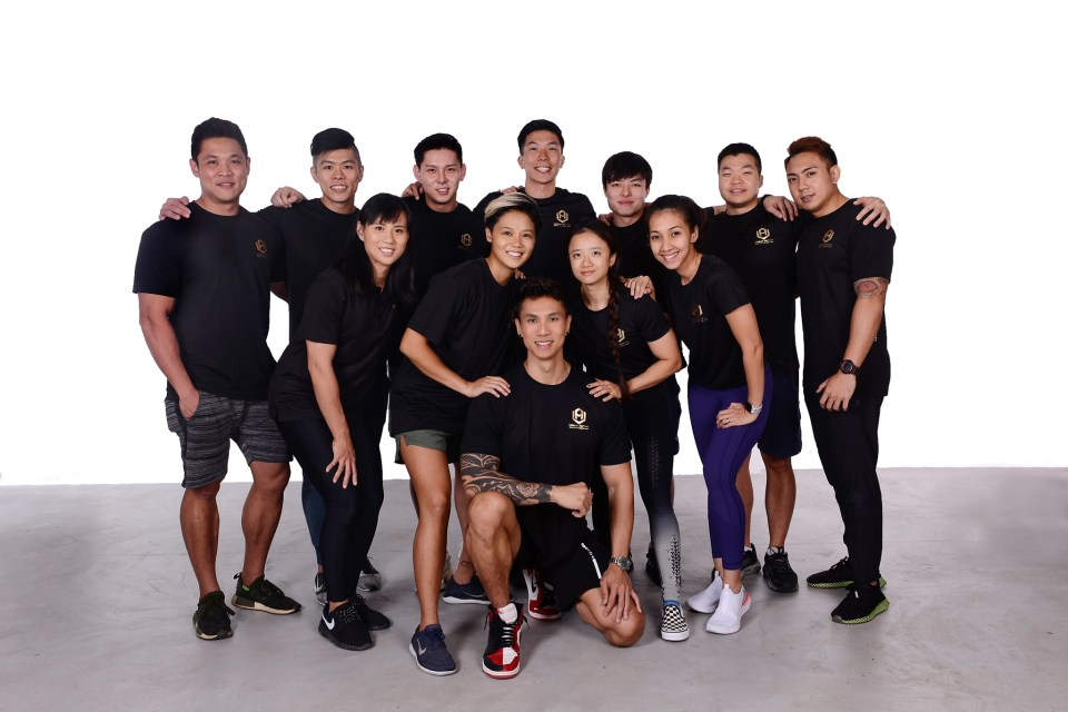 urban active fitness personal trainers singapore