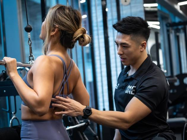 one personal training personal trainers singapore