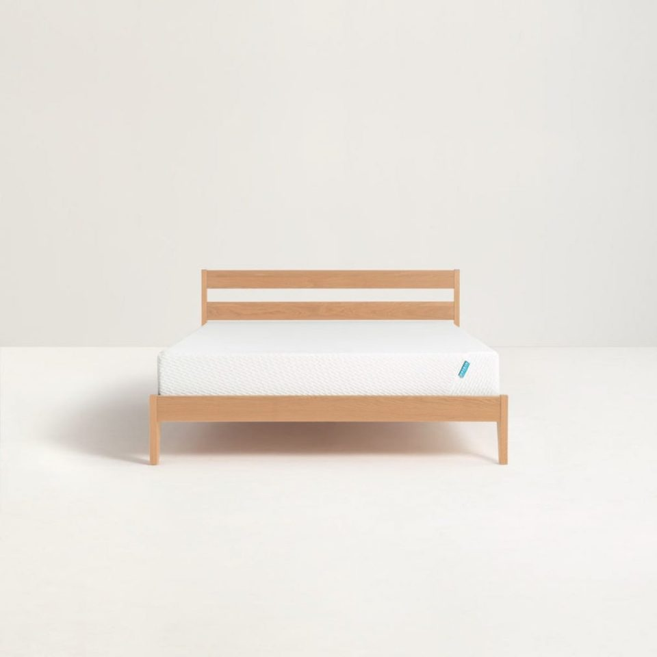 Norina American Oak Bed Frame Singapore