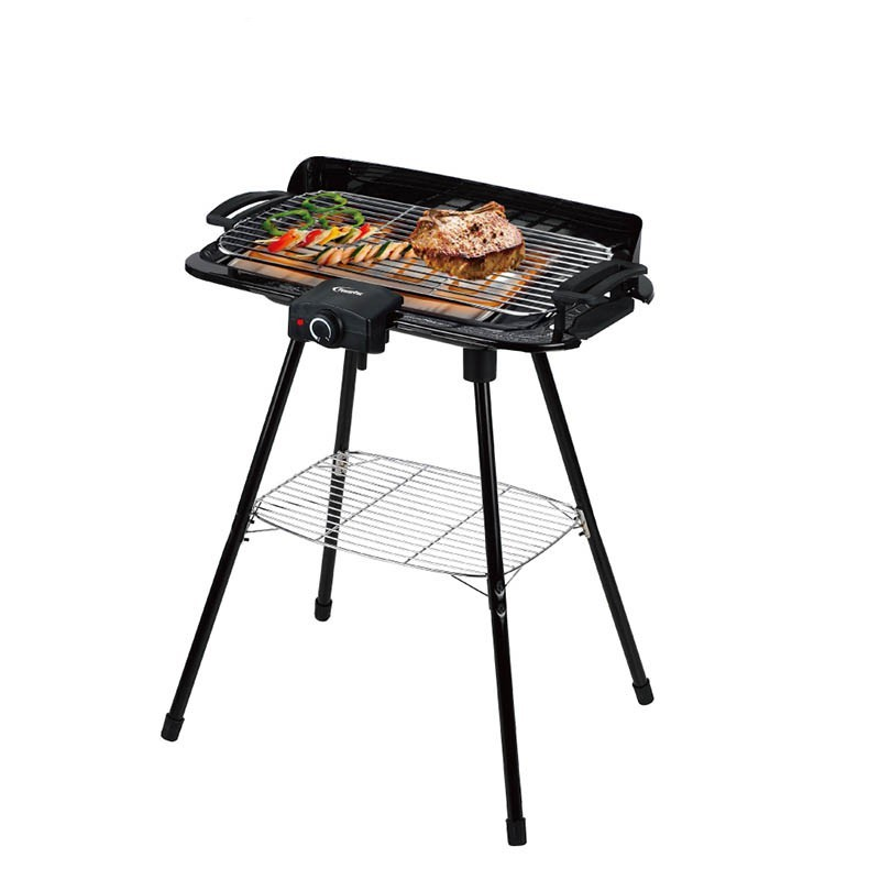 PowerPac Electric BBQ Barbecue Grill
