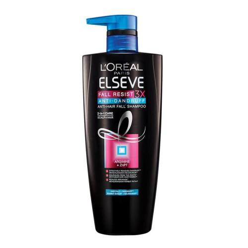 L'Oreal Paris Elseve Fall Resist 3X Anti-Dandruff Shampoobest anti-dandruff shampoos Malaysia