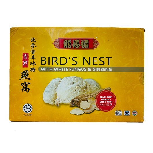Dragon Horse Bird's Nest with White Fungus and Ginseng