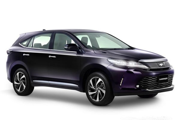 Toyota Harrier Best SUV Cars in Singapore