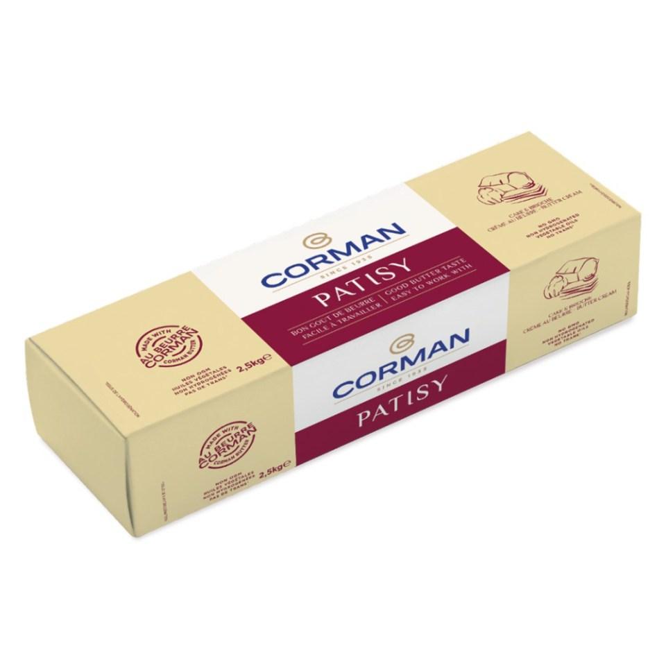 Corman Patisy Unsalted Butter