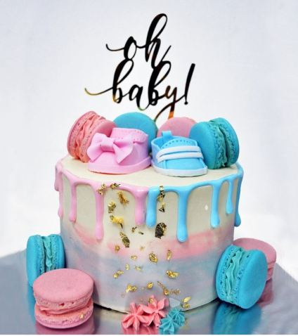 Divine Artisan Best Gender Reveal Cakes Singapore