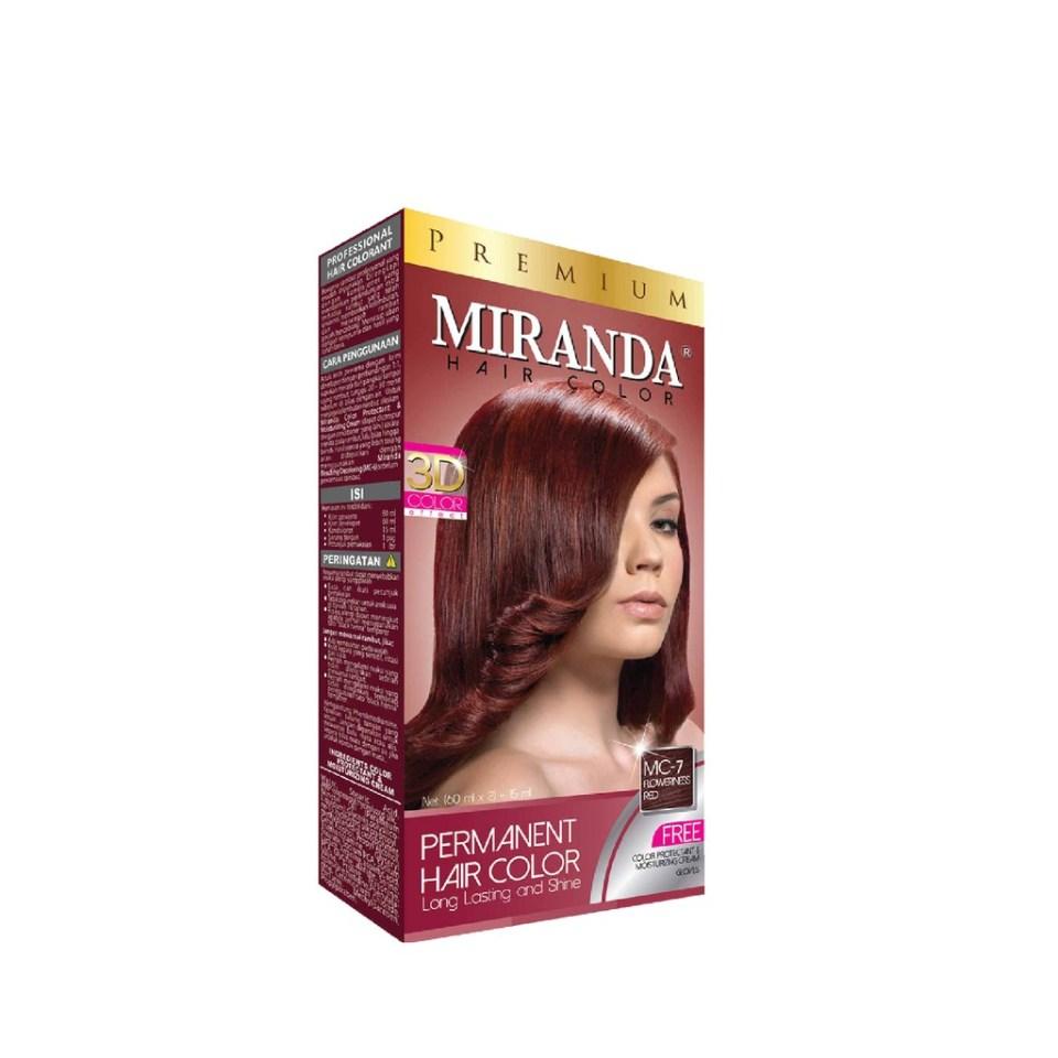 Miranda Hair Color Premium Floweriness Red