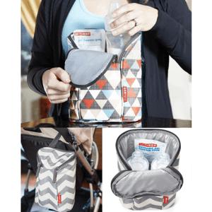 Skip Hop Grab & Go Double Bottle Bag Best Breastmilk Cooler Bags Singapore