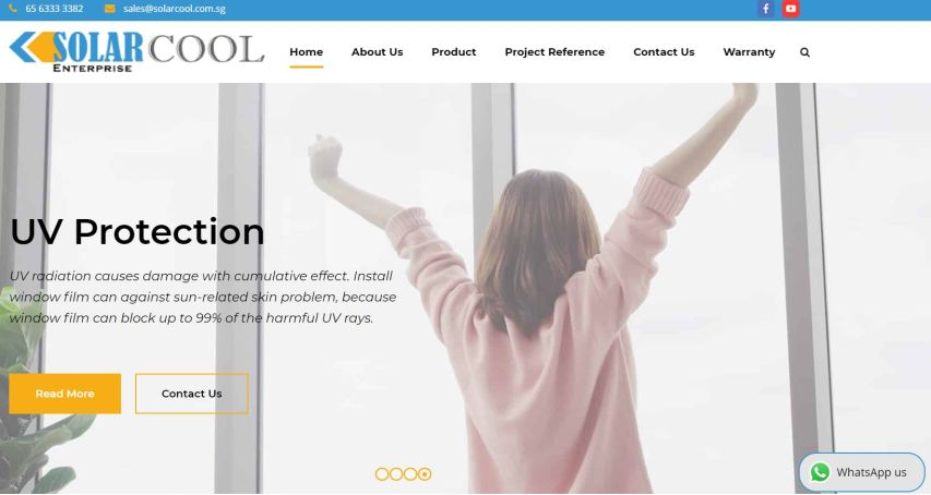 Solarcool Best UV & Solar Window Films Singapore