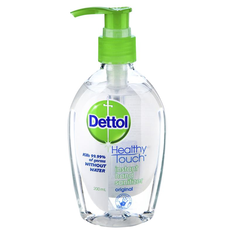 Dettol Instant hand sanitizers