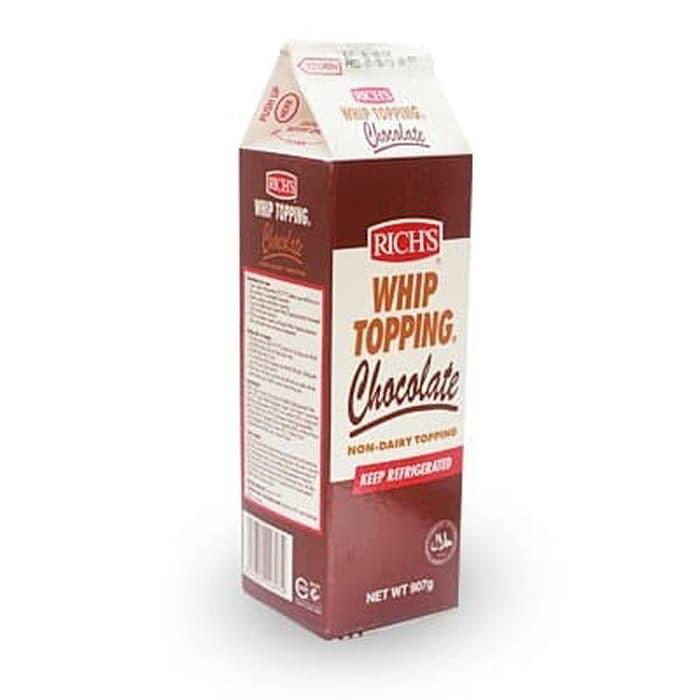Rich Whipped Cream Terbaik Chocolate