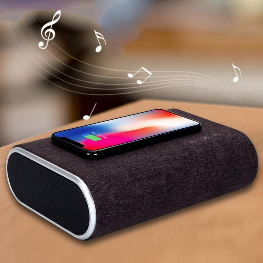 Smart Wireless Charger Bluetooth Speaker Stereo Music Player wireless chargers