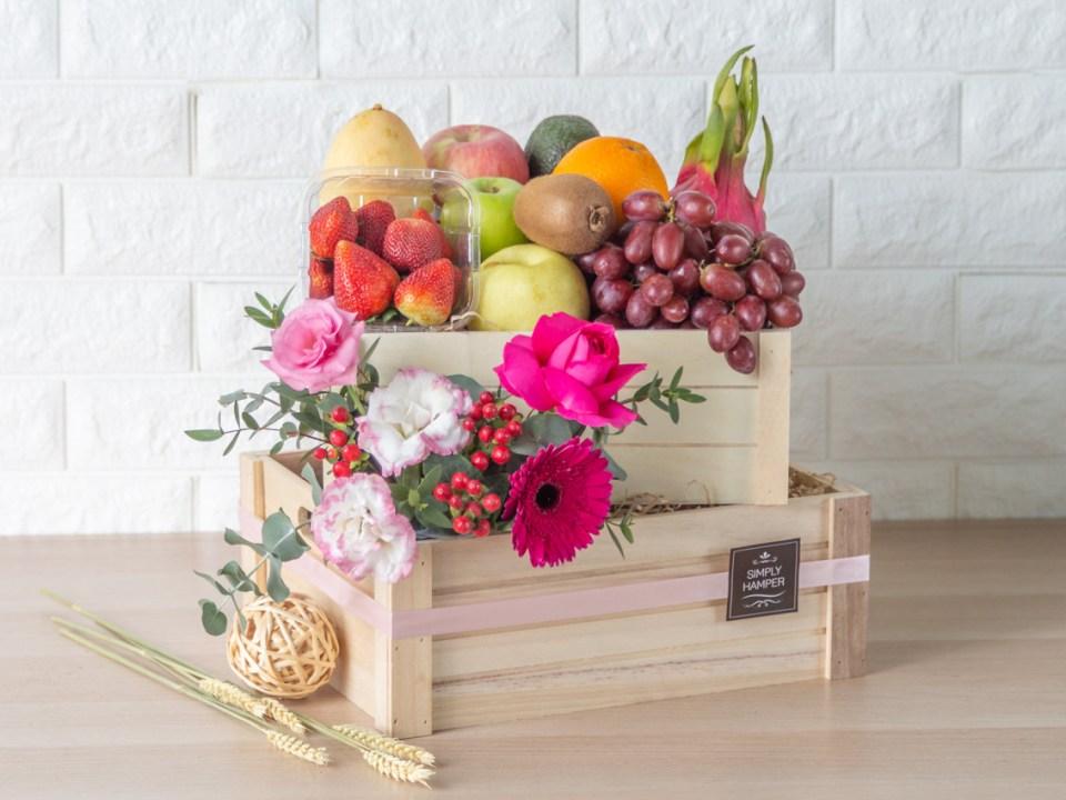 Simply Hamper fruit basket
