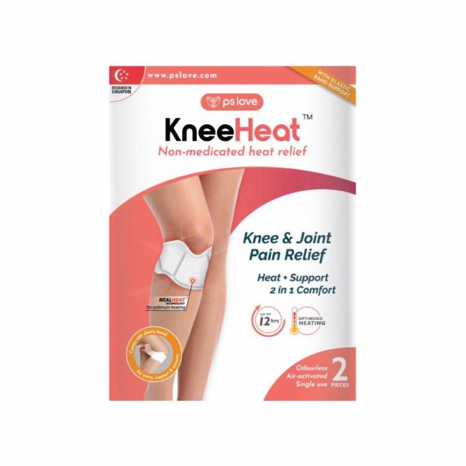 PSLove KneeHeat Wrap Knee Guard Malaysia