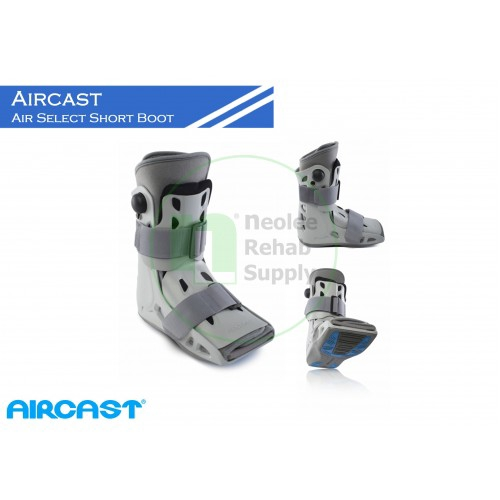 Aircast Airselect Series Short Walker Boot ankle guard