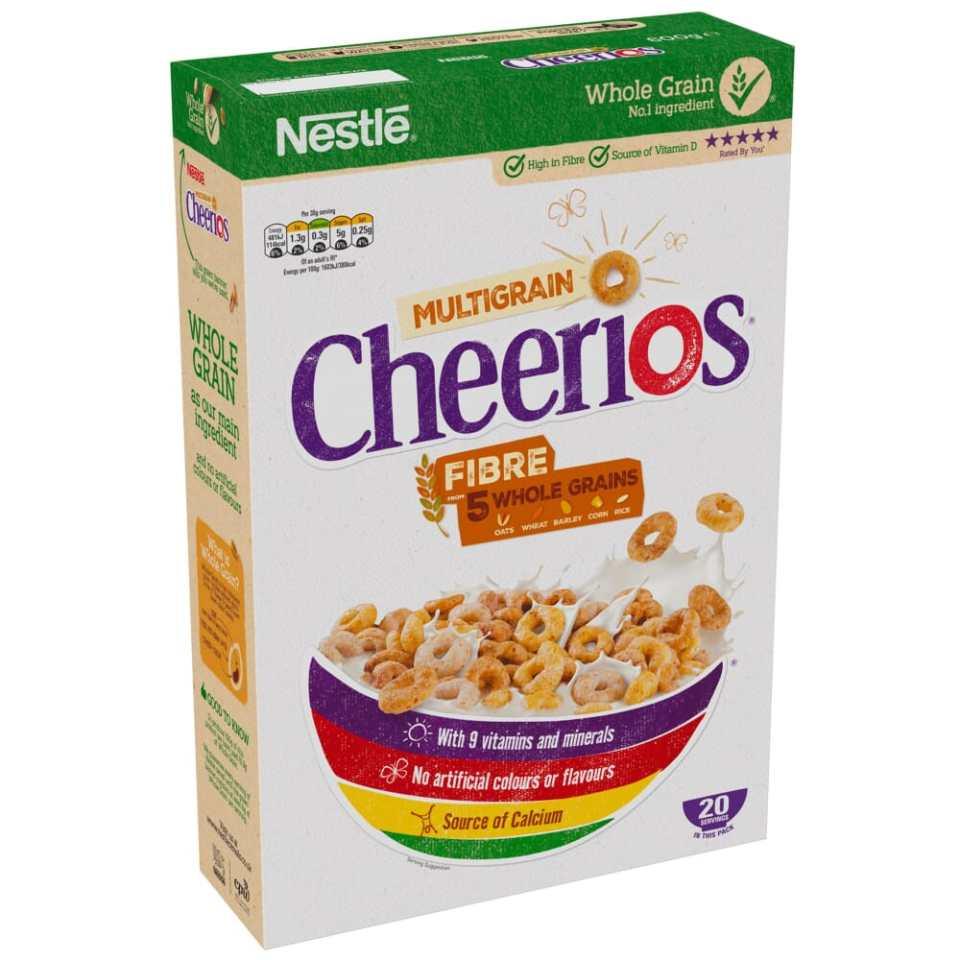 Nestle Cheerios cereals