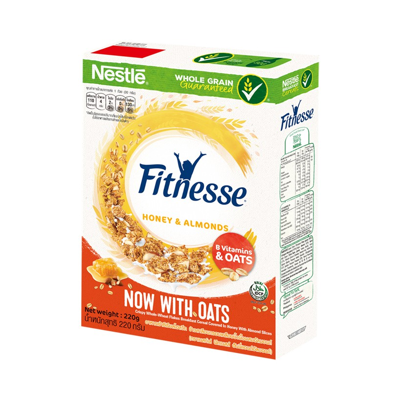 Nestle Fitness cereals