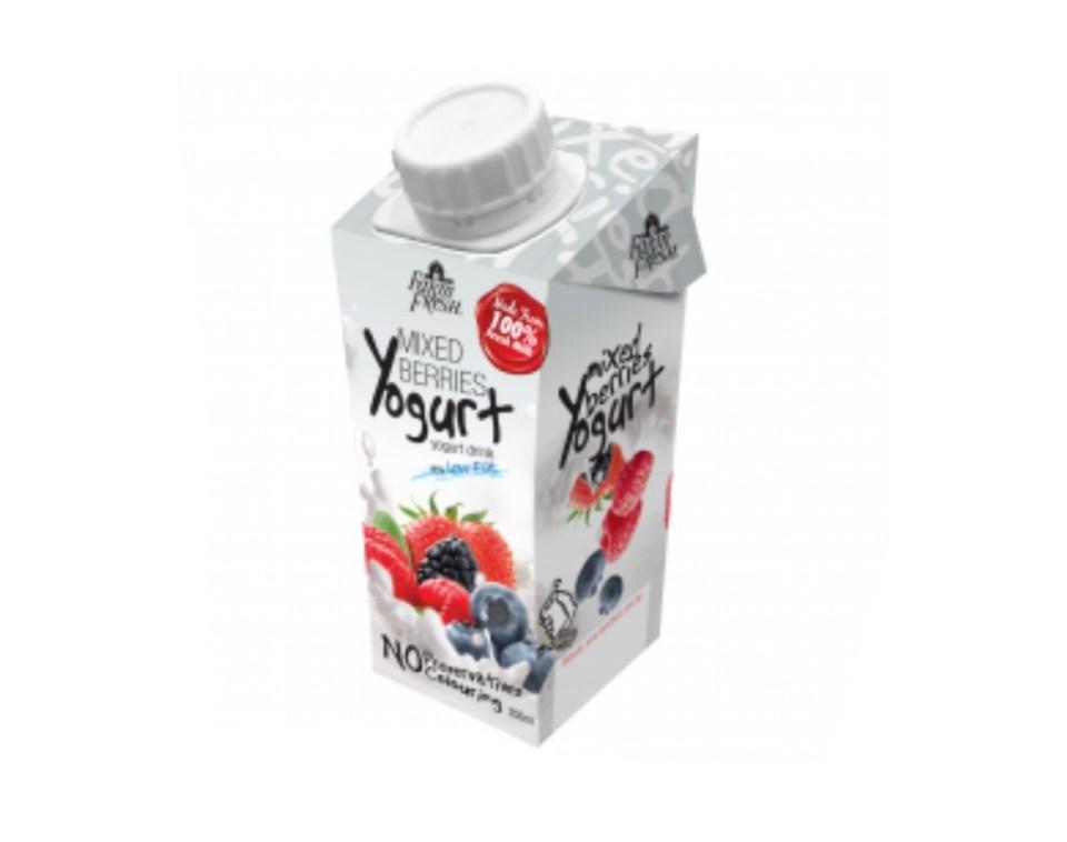 Farm Fresh UHT Yogurt Drink Mixed Berries