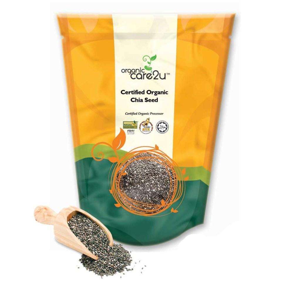 Organic Care2u Organic Chia Seed