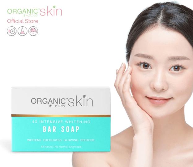 organic skin 4x whitening soap philippines