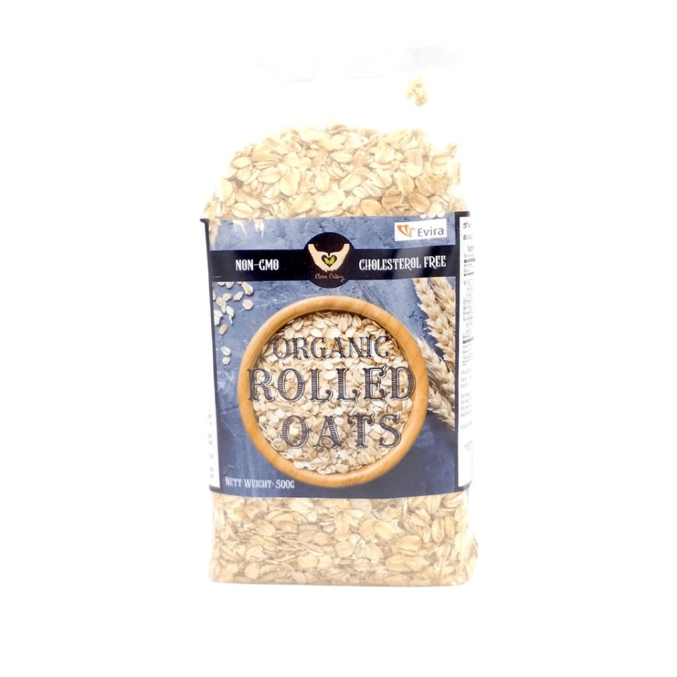CLEAN EATING Organic Rolled Oats Malaysia