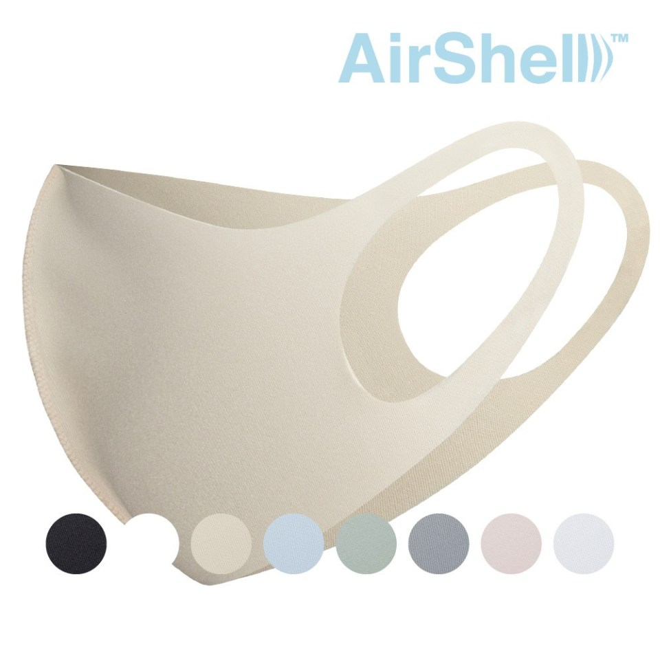 AirShell™ Antibacterial Cool Mask