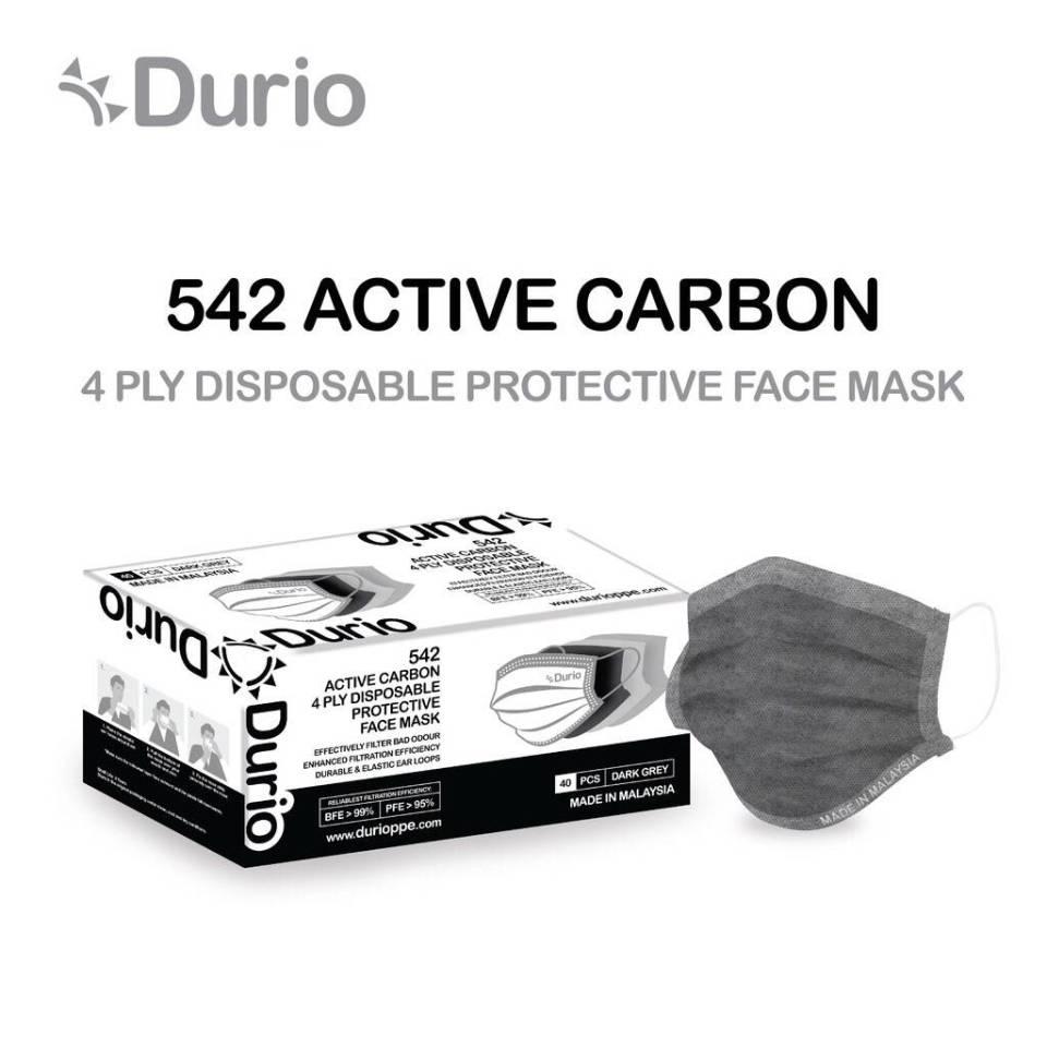 Durio 542 Active Carbon 4-Ply