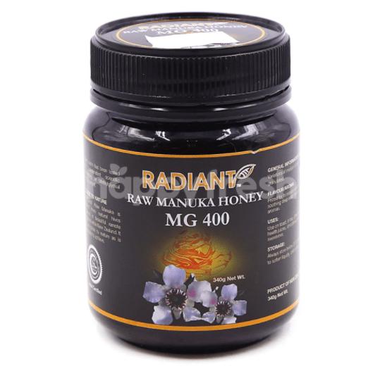 Radiant Raw Manuka Honey MG 400