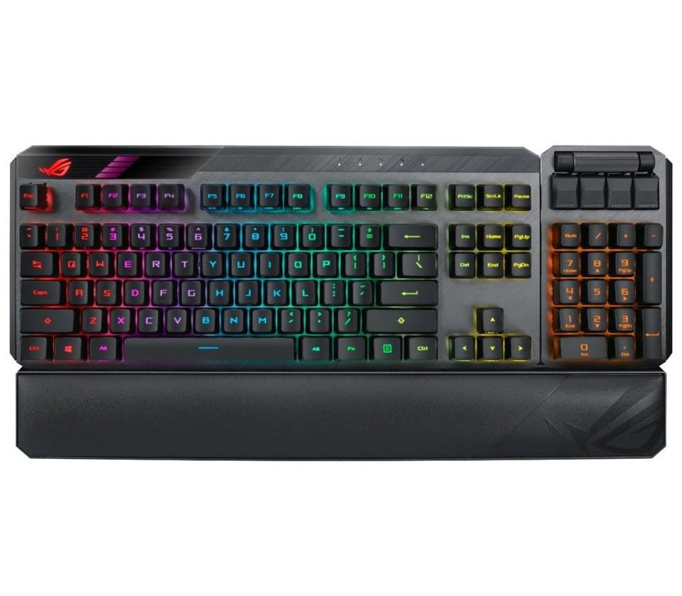 ASUS ROG Claymore II Gaming Keyboard Malaysia