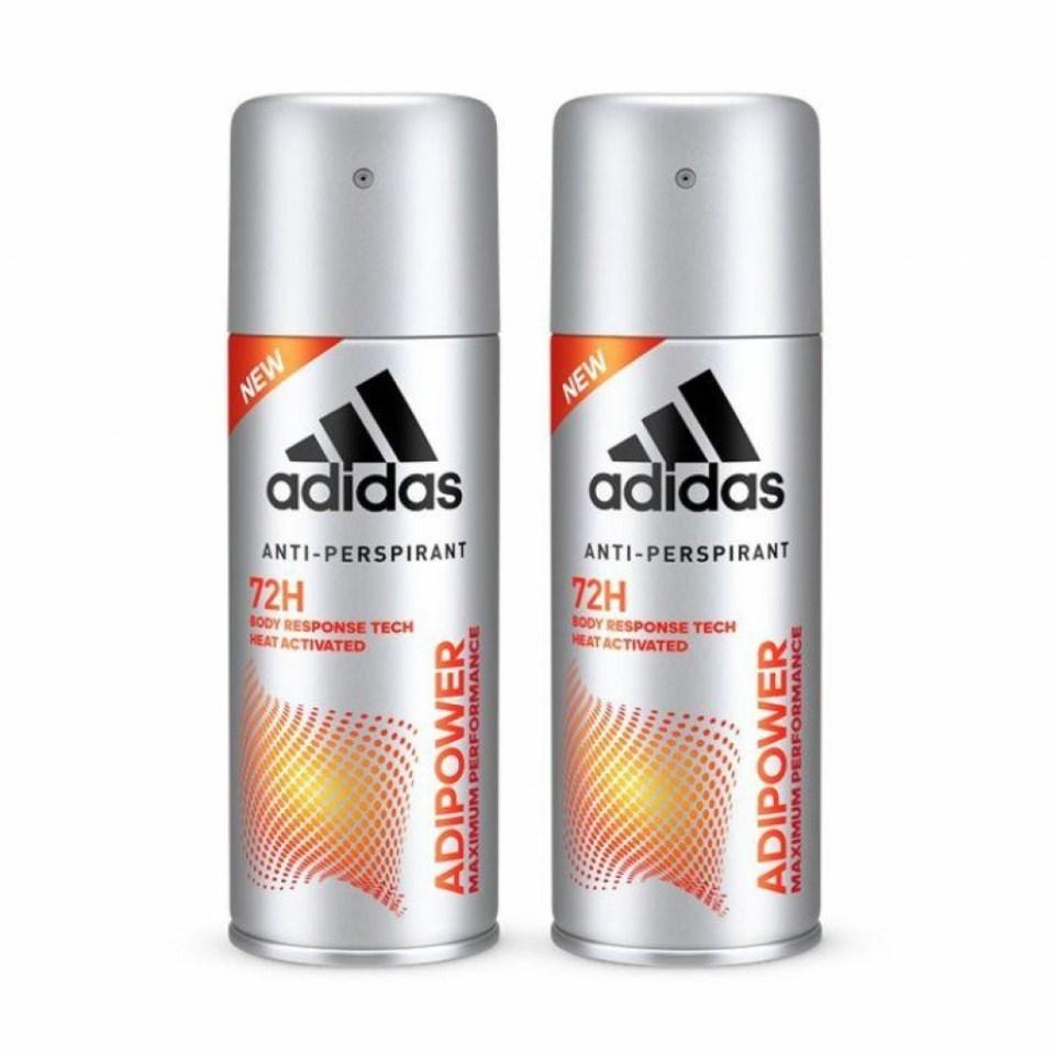 Adidas Adipower Anti-Perspirant Deodorant Body Spray for Him