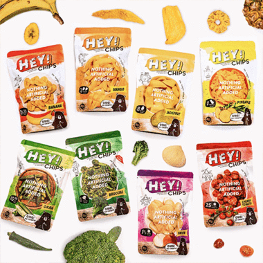 Hey! Chips Tasting Kit Best Healthy Snacks Singapore