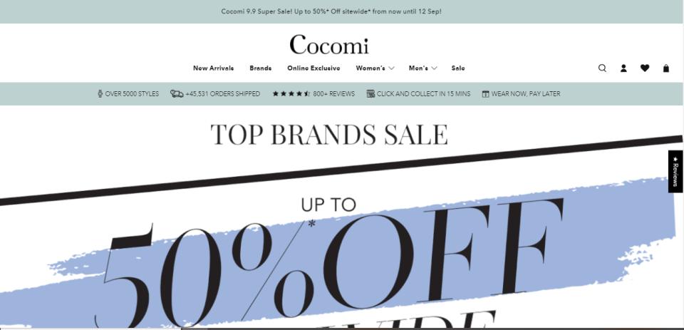 Cocomi Best Online Watch Shops Singapore