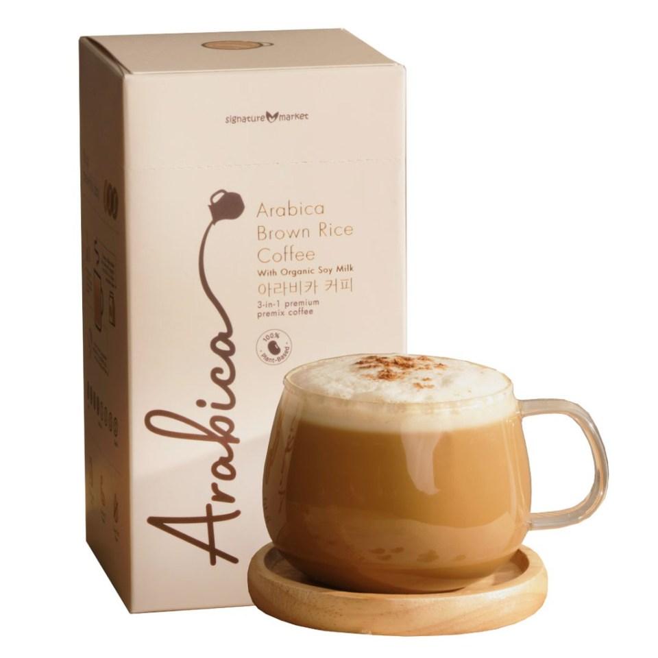 Signature Market Arabica Brown Rice Coffee Malaysia
