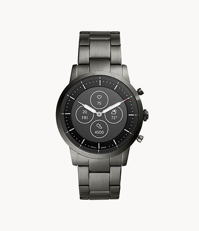 Fossil Collider Hybrid HR Smartwatch FTW7009 Best Sports Watches Singapore
