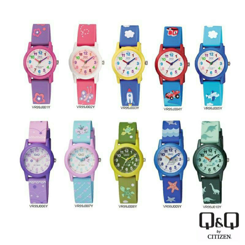 Q&Q Japan by Citizen Kids Resin Analogue Watch